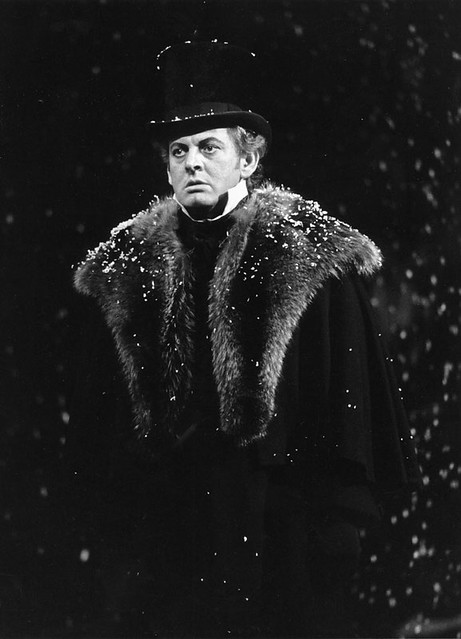 "Sir Thomas Allen in Eugene Onegin (1986). The Royal Opera. <a href=""http://www.roh.org.uk"" rel=""nofollow"">www.roh.org.uk</a> Photo: Clive Barda"