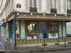 Boulangerie Beaumarchais (1900) 28 boulevard Beaumarchais, Paris XIe (Yvette Gauthier) Tags: paris faence architecture artnouveau boulangerie cramique bellepoque paris11