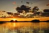 Finland - Sunset over a lake (I.S.S) Tags: summer sky lake water clouds suomi finland summercabin rautjärvi nikond90 eteläkarjala southkarelia ginordicjan12
