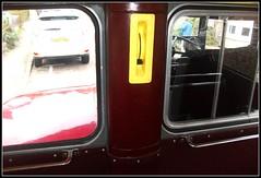 London transport RM1361 lower deck heater control. 28/01/12. (Ledlon89) Tags: bus london transport routemaster lt parkroyal londonbus aec vintagebus businterior ensignbus