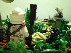 LEGO Star Wars - Droid extermination on Yavin IV (TomSolo93) Tags: star lego wars iv droid yavin extermination tomsolo93