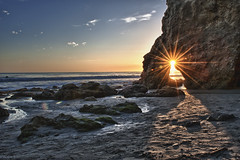 El Matador Sunset (Photography by Steven Frudak) Tags: california winter sunset beach water landscape losangeles nikon malibu pch pacificocean venturacounty elmatador beachscape stevenfrudak january2012 wwwstevenfrudakcom copyright2012 pacificcoastalhywy