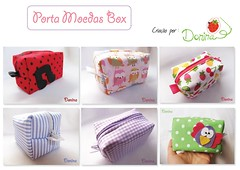Eu quero + BOX!!!! (Donina - Design de Acessrios) Tags: box feltro gatinhas portamoedas portanquel enfeitedemaaneta