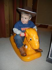 ride 'm cowboy!