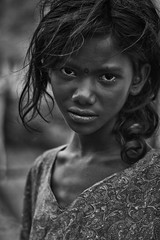 The Girl from Ramanagram (Anoop Negi) Tags: portrait india white black girl dark photography for photo media image photos delhi indian bangalore creative images best naomi po smoky mumbai karnataka campbell anoop bnw sita negi ramanagaram photosof ezee123 platinumheartaward imagesof jjournalism devaramaraya