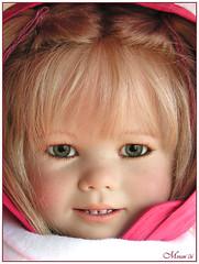 Gretchen Himstedt (old picture) (MiriamBJDolls) Tags: doll vinyl 2006 gretchen limitededition annettehimstedt himstedtkinder summerkinder