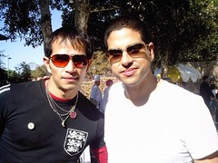 diegodiego y Adam Rodriguez (Theworldsnumberoneentertainer) Tags: world music news film television radio entertainment hollywood celebrities luminaries gossip rumors publicfigures diegodiego escandals
