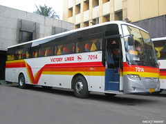 Victory Liner 7014 (Next Base) Tags: man bus shot engine location terminal victory motors number 49 passenger chassis seating corp inc configuration liner manufacturer capacity kamias cib 2x2 r39 7014 18350 almazora hocl d2066loh