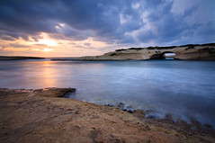 Sunset over S'Archittu (Rob McFrey) Tags: sardegna longexposure sunset sea sky bw italy sun seascape water 30 clouds reflections nikon scenery italia tramonto mare sardinia natural rob nd roberto acqua riflessi arco movements manfrotto oristano 410 d90 giottos sarchittu lungaesposizione 1000x cuglieri 100e santacaterinadipittinuri manfrotto410 mtl9351b mcfrey defraia giottosmtl9351b