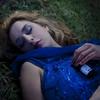 The Sleeping Beauty (silvia baglioni) Tags: blue woman grass fairytale dress blonde dreamy conceptual sleepingbeauty dreaa silviabaglioni thatsclassy