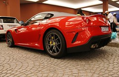 Gran Turismo Omologato (Slayclops) Tags: car mall dubai united parking uae ferrari emirates exotic arab gto rosso supercar corsa valet 599