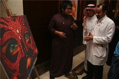 The Opening Ceremony of the Photography Exhibition (TheIMCjeddah) Tags: photography ceremony center exhibition medical international opening jeddah imc the