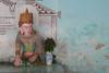 Shrine (cormend) Tags: travel flowers blue green wall canon eos gold necklace shrine asia burma royal bracelet vase crown myanmar southeast jewels royalty bagan 50d myinkaba cormend