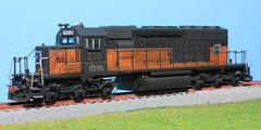 EMDX 6310 FL (Set and Centered) Tags: road railroad ex scale train model 26 milwaukee locomotive ho division custom 187 lease unit milw emd 6310 electromotive athearn emdx