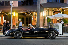 Jaguar XK 120 (Effspots) Tags: auto california new usa black classic cars 120 sports car weather night racecar vintage photography mercedes hotel la photo los automobile europe european power euro gorgeous picture sunny convertible pic exotic mclaren montage vehicle brakes rodeo beverly hyper jaguar autos custom expensive rim rims motorsports lamborghini ultra luxury rare platinum supercar bentley carshow spotting horsepower exotics valet lambo xk carspotting droptop eor jaguarxk120 hypercar worldcars hypercars exoticsonroad aventador