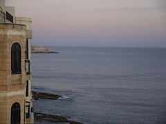 The view from my terrace in Malta