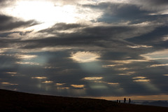 Midnight sun from Bjorndalen, Svalbard (James . Douglas) Tags: sea sun norway canon landscape rebel kiss heaven svalbard arctic fjord heavens xsi 450d