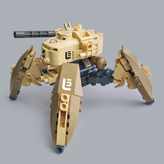 Jiinusu L5 - Assault Type (Fredoichi) Tags: robot lego space military walker micro mecha mech multiped microscale fredoichi
