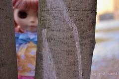 Sometimes I hide.............♥
