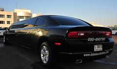 Dodge Charger VIP limo (D70) Tags: black long dubai limo vip dodge charger ae longandblack dodgechargervip