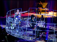 Acoustic set on floating platform. Tommy Lee, Nikki Sixx. (airkev) Tags: mars rock nikki vince hard neil casino tommy lee mick hdr joint motley crue sixx airkev