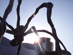 Mom Spider and Guggenheim Museum Bilbao 2007 (Iker Merodio | Photography) Tags: museum mom spider country bilbao ama guggenheim museo bizkaia basque euskadi armiarma biscay