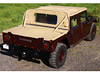 03 Hummer H1 4 door open top  1992-2006 PC-Verdeck drbg 03