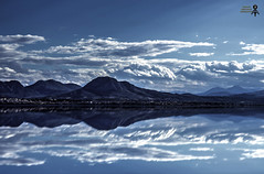 """   "". .  (theseustroizinian) Tags: blue sea sky seascape reflection clouds canon reflections greek seaside ngc corinth hellas greece hdr hellenic canoneos700d simplysuperb"