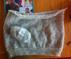 LOPI lettlopi UFO unfinish (Mytwist) Tags: heritage classic wool fetish iceland cozy sweater knitting fuzzy handknit craft style retro handcraft lopi crewneck handknitted pulli peysa itchie lettlopi alafosslopi alafoss