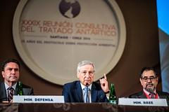 """Canciller Muñoz tras inauguración de Reunión Consultiva del Tratado Antártico """"Para Chile la Antártica es Futuro"""" (17)"""