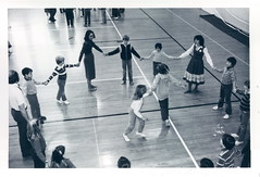 P_151_1_82_06 (NSCDS Archives) Tags: blackandwhite college 1982 dancers country 1980s berea nscds nscdsarchives p151182