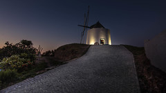 The Mill (Telmo Pina e Moura) Tags: mill landscape bluehour odeceixe algarve moinho tokina1116