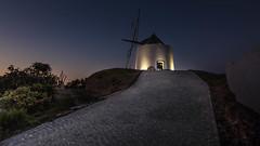 The Mill (Telmo Pina e Moura) Tags: mill landscape bluehour odeceixe algarve moinho tokina1116