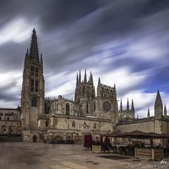 Santa Mara de Burgos (Paco Fuentes Vicario) Tags: catedral burgos largaexposicin gtico catedraldeburgos
