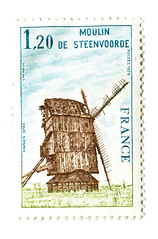 Steenvoorde (Steenvoorde Leen - 1.8 ml views) Tags: france mill 1969 french moulin mhle frankreich stamp frankrijk timbre postzegel molen postagestamp briefmarke timbreposte steenvoorde