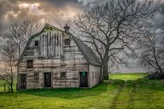 No One Stops (henryhintermeister) Tags: summer minnesota clouds rural outdoors farming barns oldbarns nostalgia farms pastoral countryliving worthington