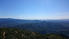 Catalonia from Muntanya de Montserrat (richardfurnival) Tags: mountain nature phonepic catalonia hills montserrat