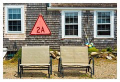 2A (Timothy Valentine) Tags: sign bench us unitedstates massachusetts large monday scituate 0516 2016