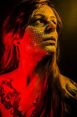 Tallows 3 (Jef Harris) Tags: portrait colorful patterns ottawa makeup muse mua homestudio creativemakeup ottawamodel