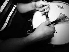 Brush Work (alan.michael.wong) Tags: leica work wire percussion brush neo tap heavy vater rotolight