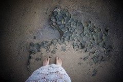 Sand monsters. (Juliet everywhere) Tags: travel feet beach me sand surf puertorico lace sony colorphotography perspective wideangle wanderlust nomad lookingdown 16mm rincon selfie travelphotography travelphoto seetheworld sonyalpha sonyimages sonynex