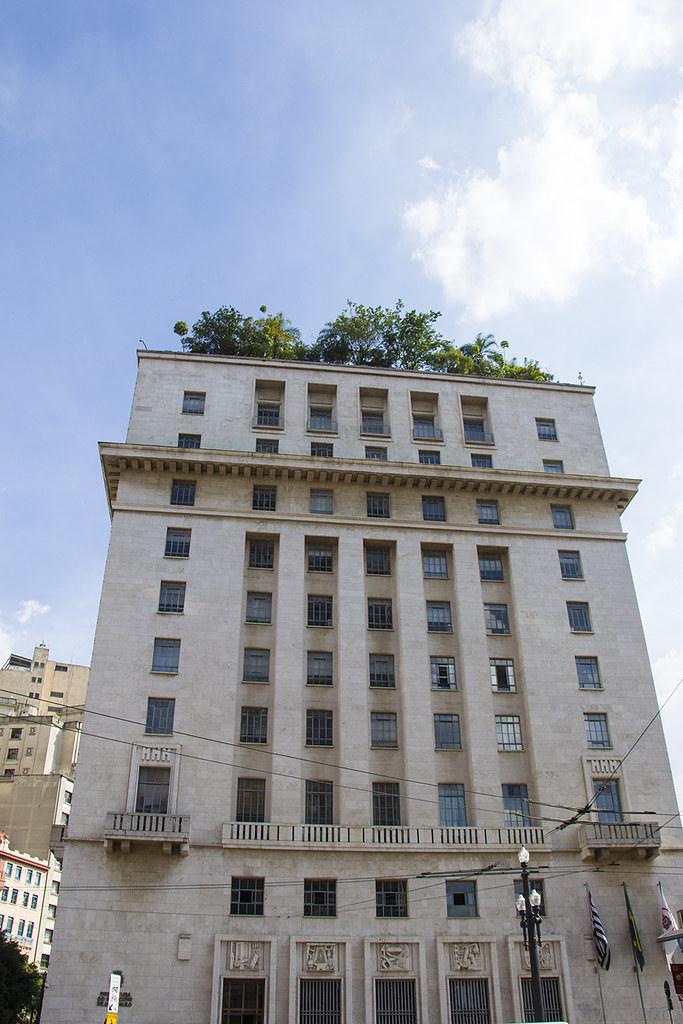 Tour Centro Histórico de São Paulo - Prefeitura de São Paulo com seu jardim