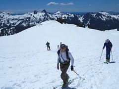 Going up (Sergiy Matusevych) Tags: park camp mountain snow paradise adams hiking mount climbing trail national rainier mountaineering muir sthelen