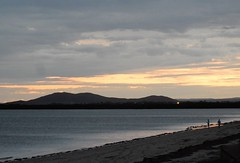 Whyalla Dusk (mikecogh) Tags: beach coast dusk hills foreshore whyalla