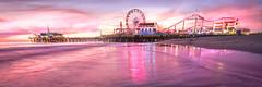 Santa Monica Pier Sunset! Dr. Elliot McGucken Fine Art Landscape & Nature Photography: Nikon D810 (45SURF Hero's Odyssey Mythology Landscapes & Godde) Tags: santa sunset art nature landscape photography pier nikon dr fine monica elliot mcgucken d810
