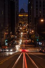 Cold Nights on California Street (Thomas Hawk) Tags: sanfrancisco california usa unitedstates fav50 unitedstatesofamerica californiastreet fav10 fav25 fav100 dmuphotowalk01162011
