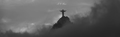 Over the clouds - Christ the Redeemer (Jos Eduardo Nucci) Tags: show travel panorama favorite sunlight mountain storm classic tourism southamerica nature monochrome beautiful weather silhouette statue riodejaneiro landscape photography mono evening nikon energy flickr mood peace seasons symbol cloudy smoke curtain faith atmosphere scene images christtheredeemer rainy foam harmony tropical positive blessed discover d800 cosmevelho mesmerizing wondersoftheworld olympiccity corcovadohill wonderfulcity joseduardonucci
