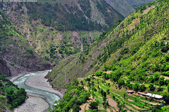 The Snake (Omer Jamal Cheema) Tags: river stream snake hill kaghan kaghanvalley slopes mygearandme omerjamalcheema