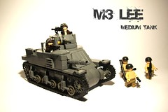 Lego M3 Lee ([Stijn Oom]) Tags: look car that happy is cool do lego you going tags special final will lee take m3 something import discover gibrick