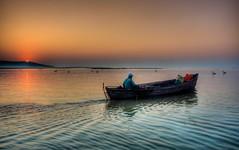 Lets go fishing (Nejdet Duzen) Tags: trip travel lake reflection turkey boat türkiye sandal izmir göl yansıma turkei seyahat bandırma sunris gündoğumu bereketli manyaslake saariysqualitypictures mygearandme ringexcellence manyasgölü musictomyeyeslevel1